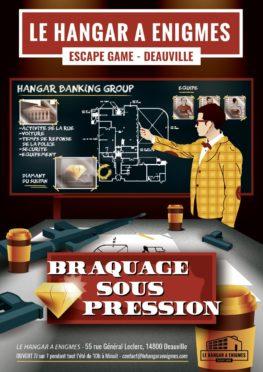 Affiche Braquage sous pression