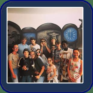 Groupe d'enfants à Escape Game Deauville