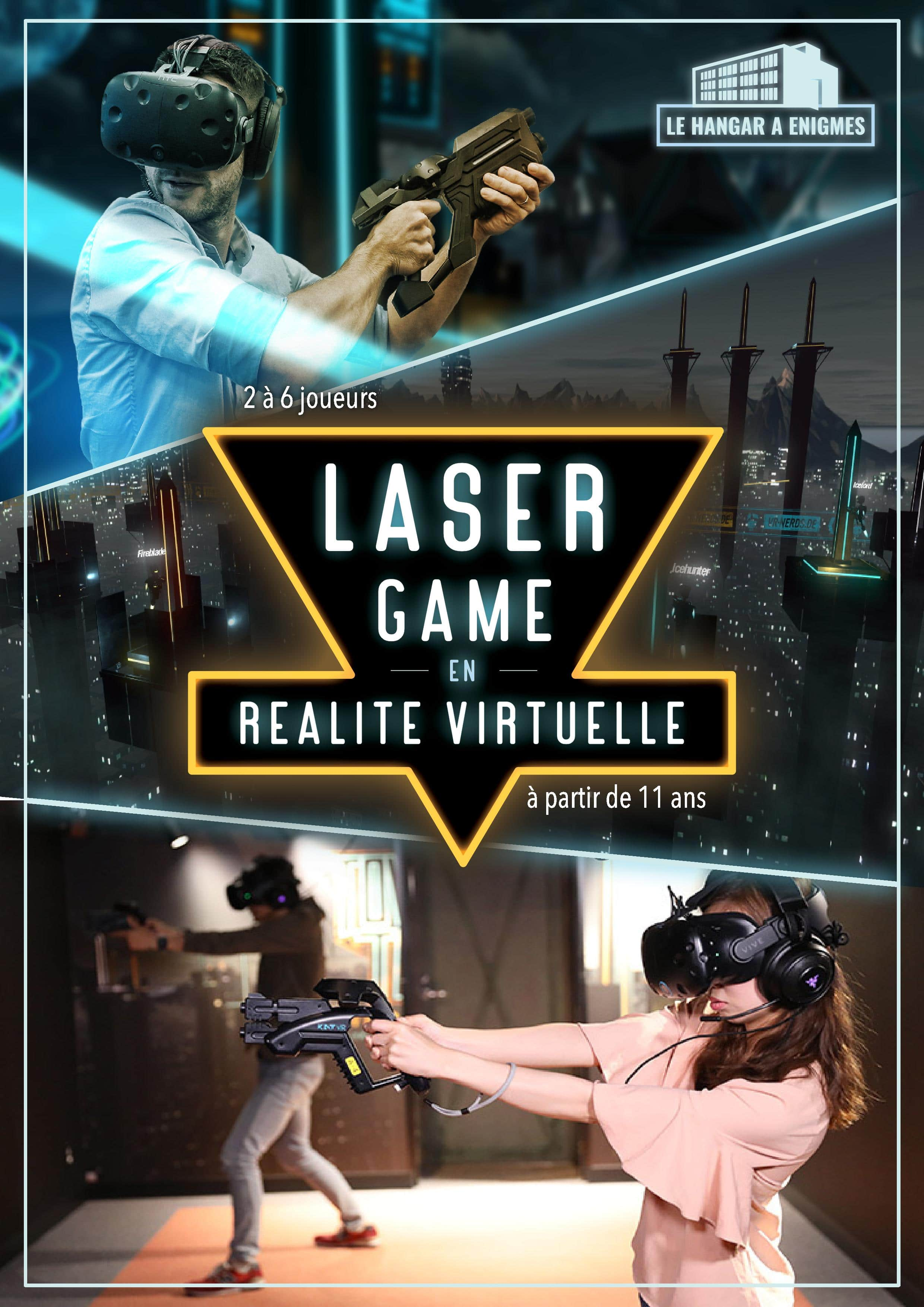 Affiche Laser Game