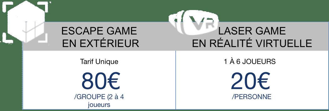 Tarif Outdoor et VR Deauville-Trouville